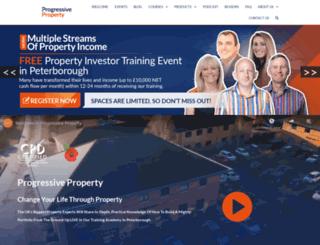 progressiveportfoliobuilder.co.uk screenshot