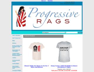 progressiverags.com screenshot