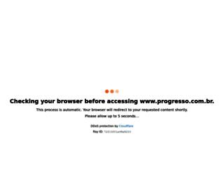 progresso.com.br screenshot