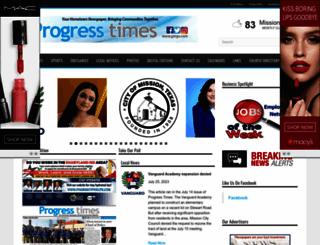 progresstimes.net screenshot