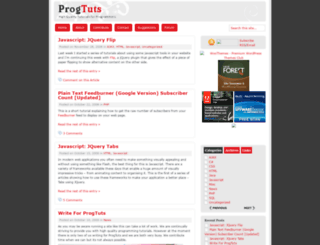 progtuts.info screenshot