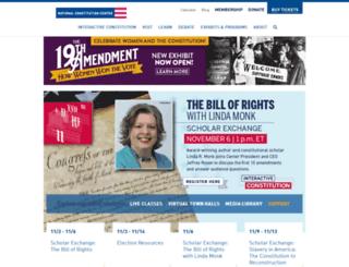 prohibition.constitutioncenter.org screenshot
