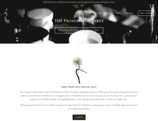 prohibition1920s.com screenshot