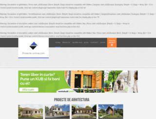 proiecte-online.com screenshot