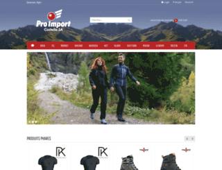 proimport.ch screenshot