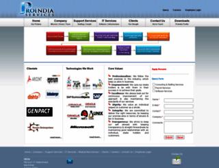 proindiaservices.com screenshot