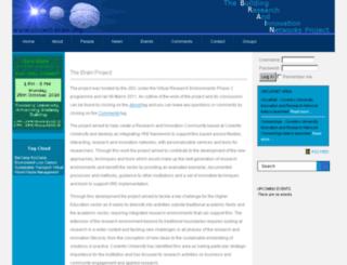 project-brain.org screenshot