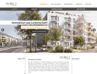 project-immobilien.com screenshot