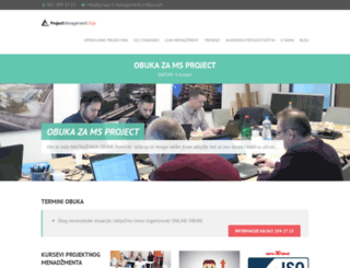 project-management-srbija.com screenshot