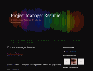 project-manager.webs.com screenshot