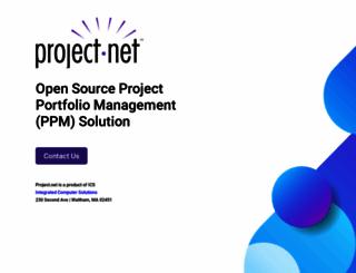 project.net screenshot