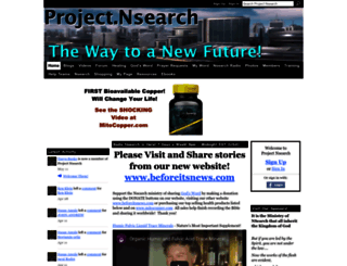 project.nsearch.com screenshot