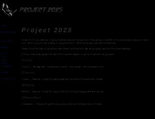 project2025.com screenshot