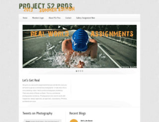 project52pros.org screenshot