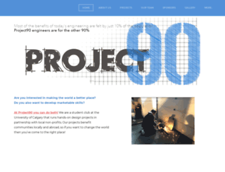 project90.ca screenshot