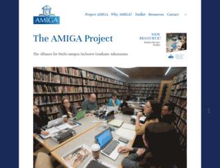 projectamiga.org screenshot