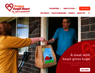 projectangelheart.org screenshot