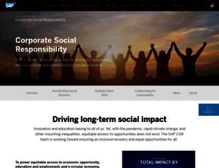 projectcharitra.sap.com screenshot