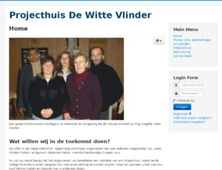 projecthuis-dewittevlinder.be screenshot