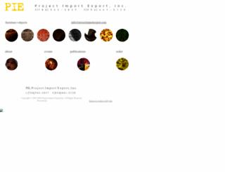 projectimportexport.com screenshot