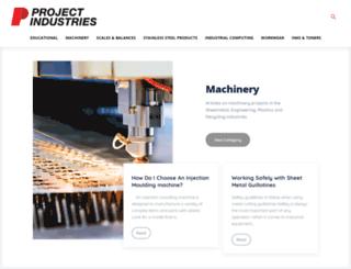 projectindustries.com.au screenshot
