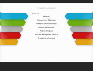 projectinnovation.biz screenshot