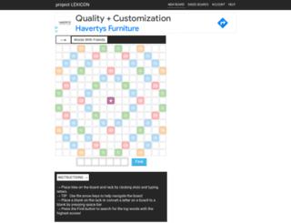 projectlexicon.net screenshot