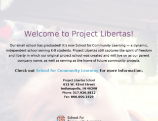 projectlibertas.org screenshot
