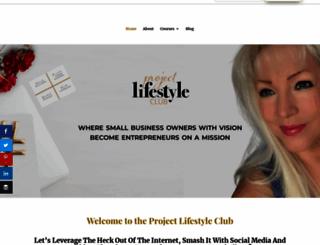 projectlifestyleclub.com screenshot