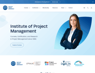 projectmanagement.ie screenshot