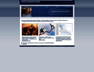 projectmanagercoaching.com screenshot