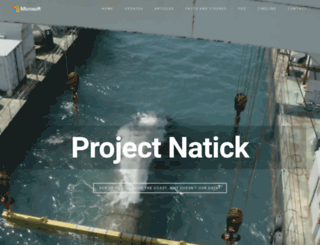 projectnatick.com screenshot