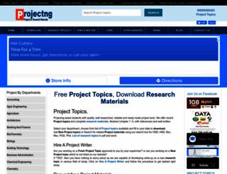 projectng.com screenshot