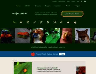 projectnoah.org screenshot