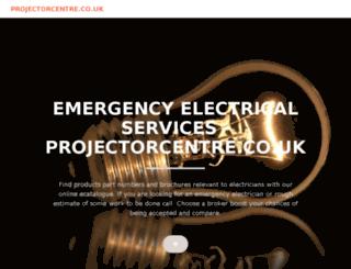 projectorcentre.co.uk screenshot