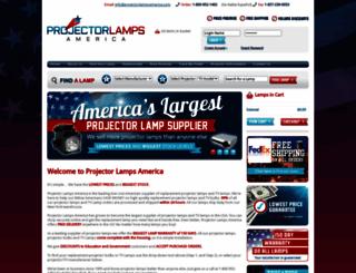 projectorlampsamerica.com screenshot