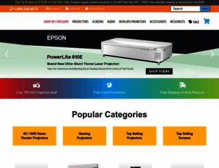 projectorpeople.com screenshot