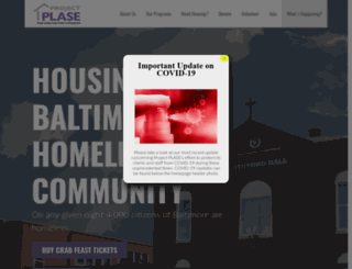 projectplase.org screenshot