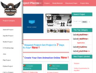 projectplazza.com screenshot