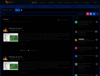 projectpokemon.org screenshot