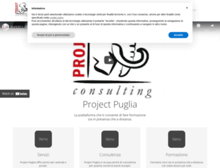 projectpuglia.it screenshot