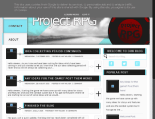 projectrpg.co.uk screenshot