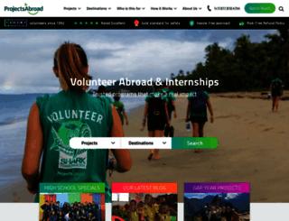 projects-abroad.ca screenshot