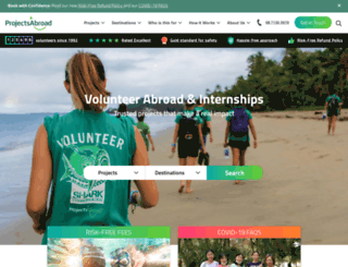 projects-abroad.com.au screenshot