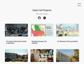 projects.dailycal.org screenshot