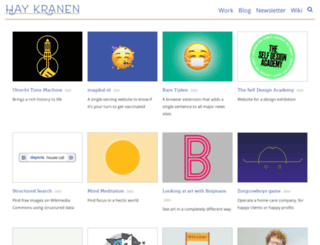projects.haykranen.nl screenshot