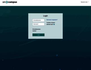 projects.oncampus.de screenshot