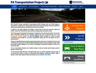 projects.penndot.gov screenshot