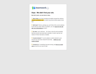 projects.synergema.com screenshot