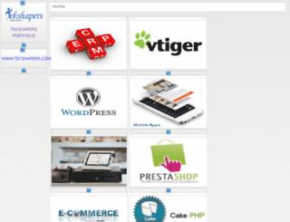 projects.tekshapers.in screenshot